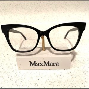 MaxMara MM1318 807 Black with Silver